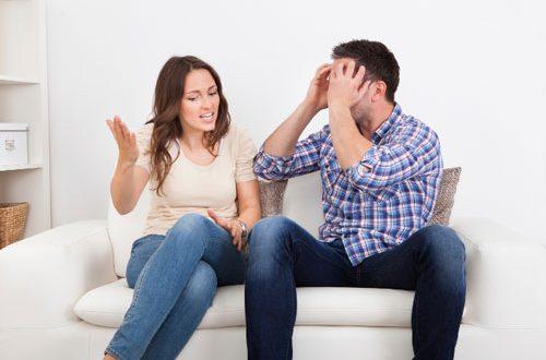 رفتار با شریک زندگی در مواقع تنش