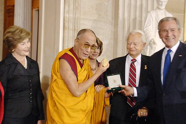 دالایی لاما در کنگره آمریکا