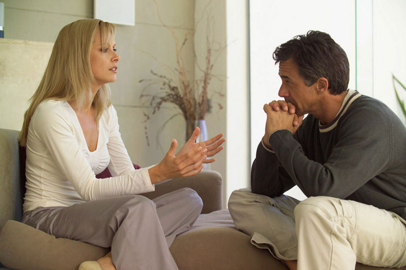 دستیابی به آرامش زن و شوهر در خانواده