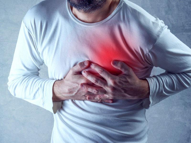 علت درد قفسه سینه