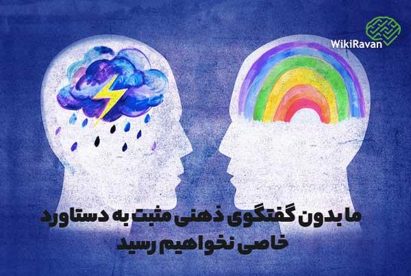 گفتگوی ذهنی مثبت و منفی