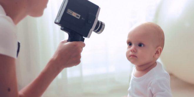 عکاسی مادر از فرزند