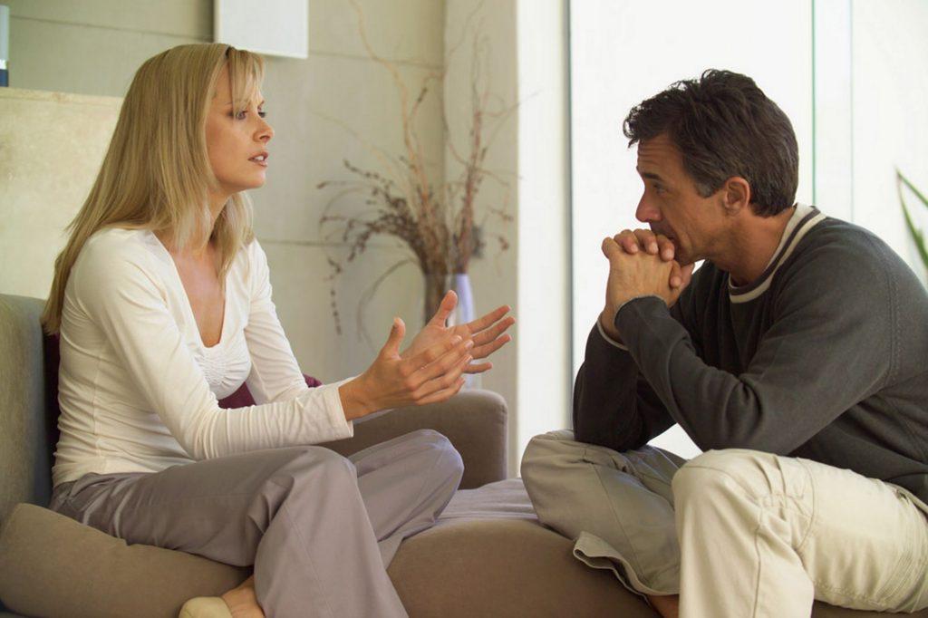 اثرات مثبت بحث بر روابط بین زوجها