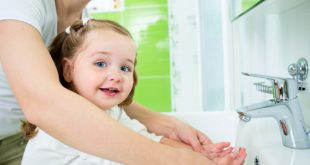 آموزش دست شستن کودکان