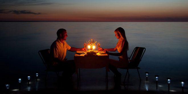 اولین شام عاشقانه در روابط زناشویی