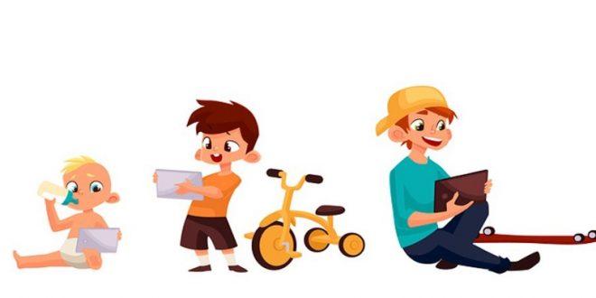 عوارض گوشی موبایل برای کودک