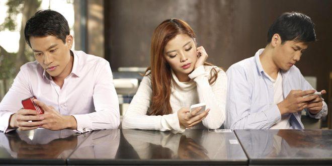 گرایش افراد به اعتیاد موبایل