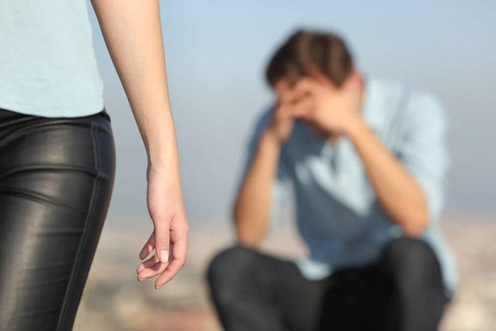 شکست در رابطه عاطفی