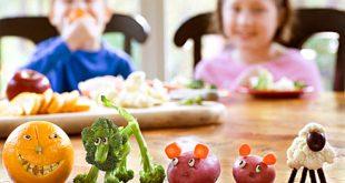 فواید سبزی برای کودک