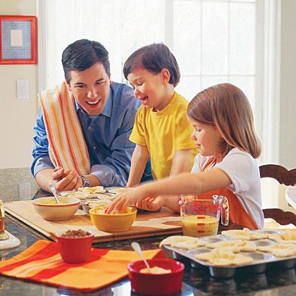 آشپزی کردن کودکان