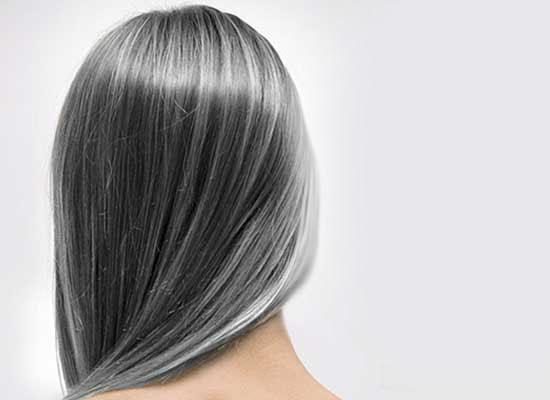 جلوگیری از سفیدی موی زنان