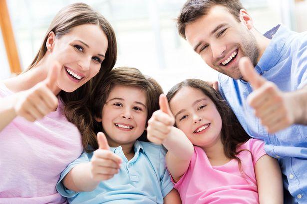 یک خانواده خوشبخت