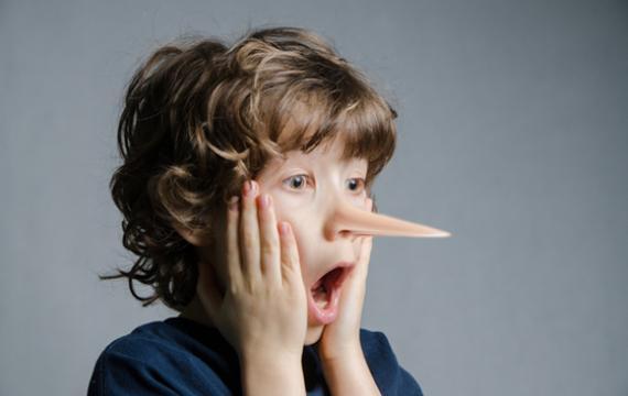 دروغ گویی به کودکان