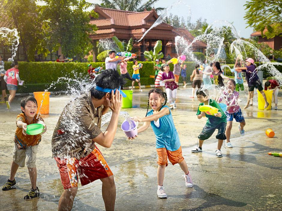 فواید آب بازی برای کودکان