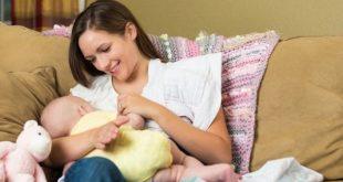 آرامش مادران هنگام شیردادن