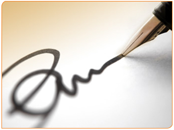 امضای شما نشانگر اعتمادبه نفس شما