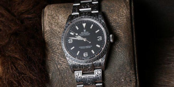ساعت مچی را برعکس ببندید