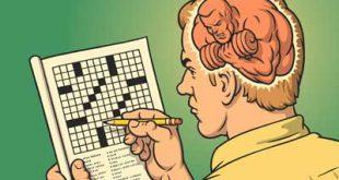 عملکرد بهتر مغز با حل جدول