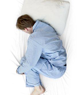 خوابیدن هنگام نا امیدی