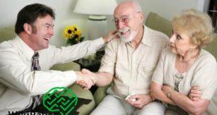 کمک به سالمندان افسرده