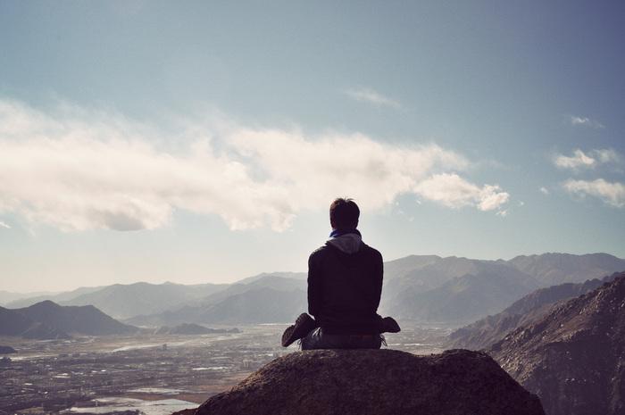 تمرین یوگا و مدیتیشن