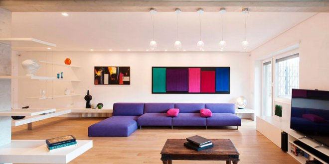 بررسی روانشناسی رنگها در طراحی داخلی منزل