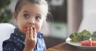 عادت تغذیه سالم در کودکان
