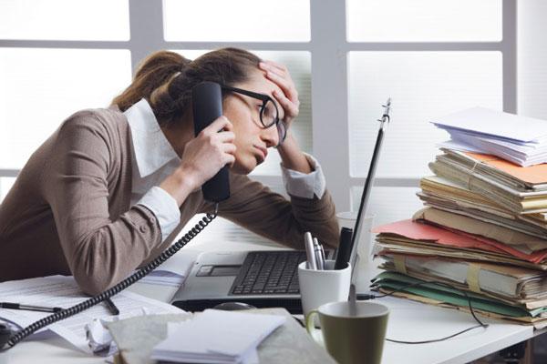 کاهش استرس کاری
