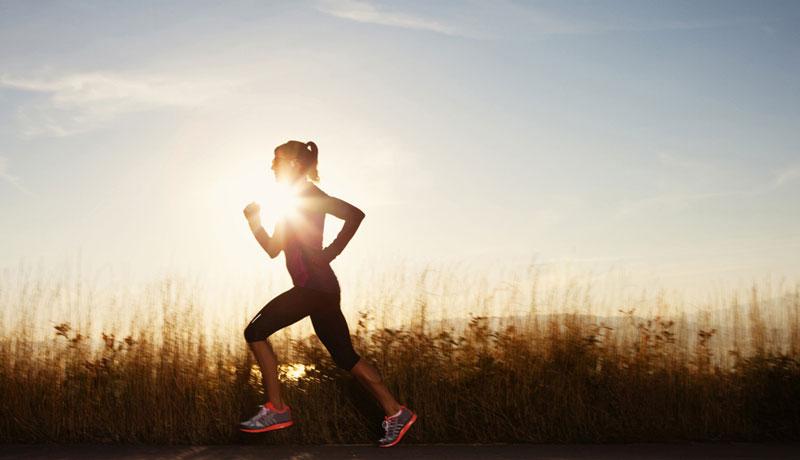ورزش کردن زن