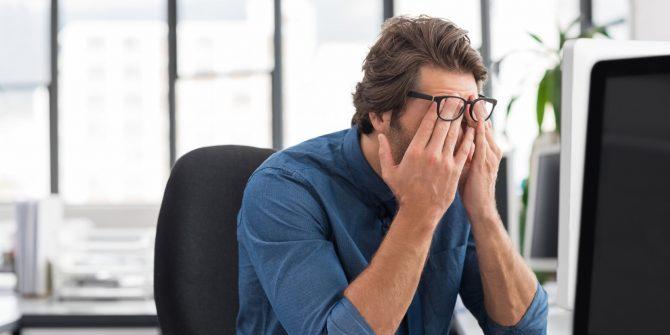 تاثیر استرس بر بینایی
