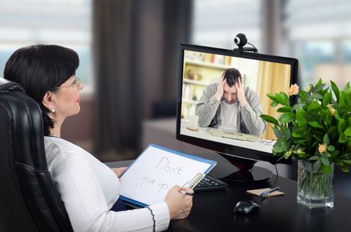 مشاوره روانشناسی آنلاین با کامپیوتر