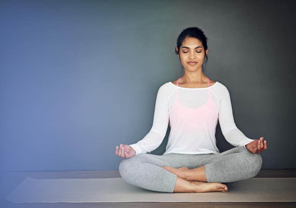 درمان افسردگی با یوگا
