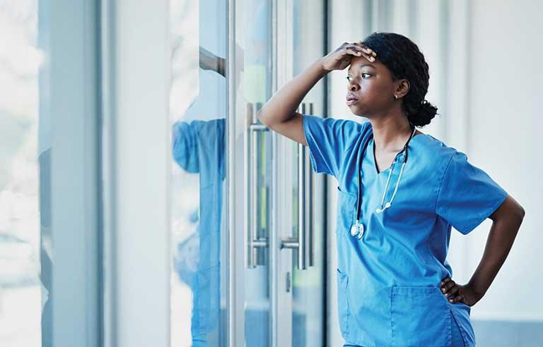 استرس در پرستاران