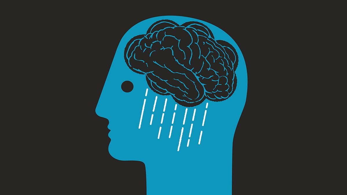 تاثیر افسردگی بر مغز