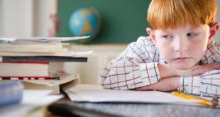 علت استرس بچه ها در مدرسه