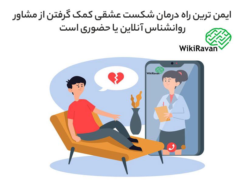 درمان شکست عشقی در روانشناسی